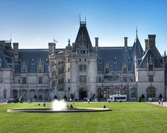 The Biltmore Estate covers no fewer than 8,000 acres, and its crowning jewel is the largest private home in the entire United States.