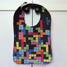 Tetris Baby Bib, Huckleberry Baby on Etsy, $14.00