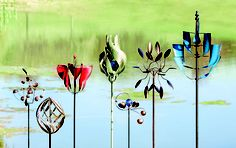 A NEW spin on Spring...wind spinners galore
