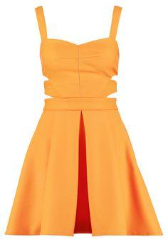 Miss Selfridge Sukienka letnia - orange - Zalando.pl