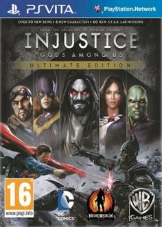 Download Injustice: Gods Among Us Ultimate Edition Ps Vita Free !  Takes NetherRealm Studios' bold new fighting game and enhances it with over $60 of new content including 6 new characters, over 30 new skins and 60 new S.T.A.R. Labs missions.  Visit us: psvitagamesfull.com