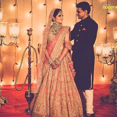 You'll never find a bride in Sabyasachi who doesn't look so graceful and perfect…