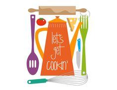 Kitchen Art Print Julia Child Cooking Quote Art Print Gift. $16.00, via Etsy.