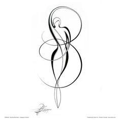 Dancing Silouhette I Posters by Alijan Alijanpour at AllPosters.com