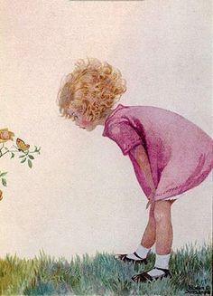 Honor C. Appleton (1879 – 1951, English)  Admiring Nature