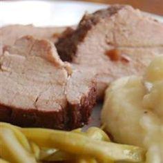 Amazing Pork Tenderloin in the Slow Cooker     #good stuff