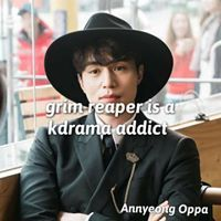 Grim reaper is k-drama addict. Lee Dong Wook