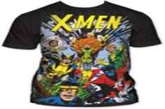 Camisetas de X Men: el poder de la ciencia ficción #camiseta #starwars #marvel #gift