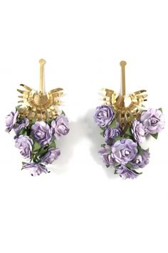 Aretes Racimo de Palma lila Alejandra Valdivieso joyas Place Cards, Jewelry Design, Place Card Holders, Stud Earrings, Fashion, Necklaces, Colombian Women, Modern Women, Fashion Trends