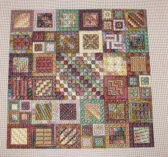 Homewood Embroiderer's Guild: February meeting show and tell