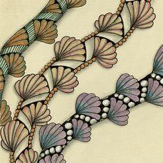 Linda's Crafty Inspirations: Sunday Tangles