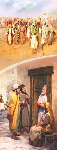 1. Los israelitas cuando eran el pueblo de Dios; 2. Cristianos del primer siglo predicando de forma organizada