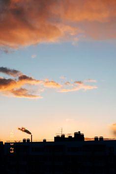 #sunset #clouds #sun Cloud Photos, My Photos, Clouds, Celestial, Sunset, Film, Outdoor, Sunsets, Movie