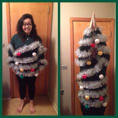 ugly christmas sweater party - Homemade Ugly Christmas Sweaters