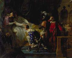 Merry-Joseph Blondel - La mort de Louis XII - Louis XII — Wikipédia