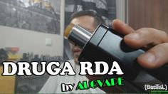 DRUGA RDA by Augvape + Build - BasilisL (Greek Reviews)