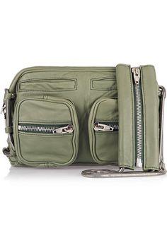 Brenda Washed-Out Shoulder Bag Discount Designer Clothes, Clothes For Sale, Alexander Wang, Leather Shoulder Bag, Bag Accessories, Messenger Bag, Satchel, Purses, Luxury