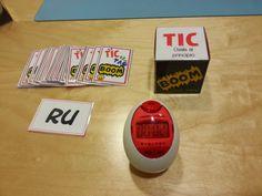 Logopedia dinámica y divertida : Tic Tac BooM Speech Language Pathology, Speech And Language, File Folder Games, Beginning Reading, Spanish Classroom, Teacher Tools, Educational Games, School Resources, Speech Therapy