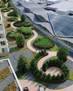 Nouvelle at Natick, by  Martha Schwartz Partners, Natick (MA), USA. #landarch…