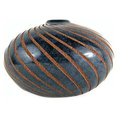 I pinned this Spiral Ombliguero Vase in Blue from the Chaka event at Joss and Main!