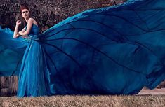 RENTAL, Parachute Dress and Skirt, Photoshoot, Senior Portrait, Rental Dress, Special Occasions, OOAK, Rent or Commission
