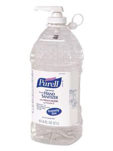 Purell Instant Hand Sanitizer Economy Size Refill Bottle w/ Pump Alcohol Free, Active Ingredient, Hand Sanitizer, Spray Bottle, Cleaning Supplies, Moisturizer, Soap, Personal Care, Health
