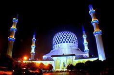 Blue Mosque Shah Alam