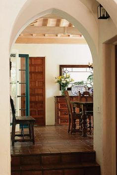 Spanish Colonial Arched Doorways
