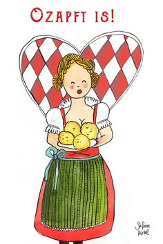 Ozapft is! Ready for the Wiesn - Oktoberfest 2017!