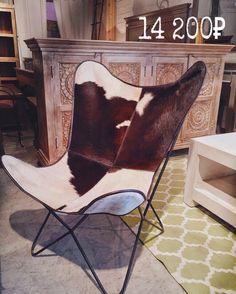 Кресло Butterfly состоящее из стальной рамы и сменной ткани уже многие десятилетия является ярким представителем минимализма в чистом виде. В наличие модели с основанием из шкуры и кожи. http://artefacto.ru/kozhanoe-kreslo-butterfly-uk-flag-2920/#.V16FevmLTIU