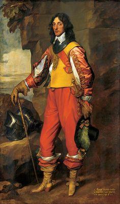 Portrait of Sir Thomas Wharton by Sir Anthony van Dyck