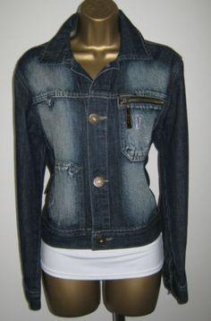 Dolce&Gabanna Italian Designer Denim Jacket Size L   eBay  http://www.ebay.co.uk/sch/peppermintcream1/m.html?_nkw=&_armrs=1&_ipg=&_from=