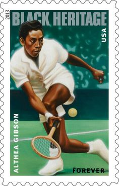 The 36th stamp in the Black Heritage series will honor pioneering tennis player Althea Gibson. The first African American to win one of the four major singles tournaments, Gibson also helped integrate the sport of tennis at the height of the civil rights movement.