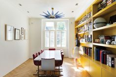 Bright Bauhaus Colors Fill This Brick Edwardian House in London - Dwell