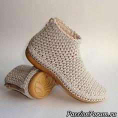 KREIS häkeln / IN RUNDEN häkeln / Rundes Kissen häkeln / für Anfänger - Cro. Crochet Sandals, Crochet Shoes, Crochet Slippers, Crochet Boots Pattern, Shoe Pattern, Crochet Patterns, Crochet Baby, Knit Crochet, Diy Crafts Crochet