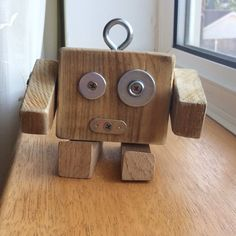 Diy Projects To Try, Wood Projects, Monster Co, Mary And Jesus, Junk Art, Wood Toys, Wood Blocks, Logs, Wood Art