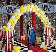Popcorn Party Arch Shindigz