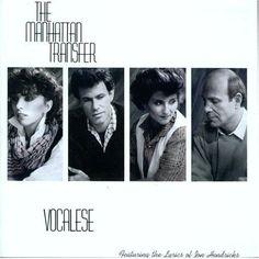The Manhattan Transfer - Vocalese (Atlantic Records)