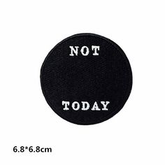 df1985b2386 New to craftapplique on Etsy  patchpatchesPersonality patch NOT TODAY  embroidered patch punk patch iron on