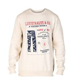 LEVIS DEADSTOCK FLEECE CREW SWEATSHIRT-1IdPXeQQ