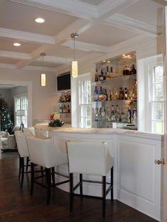 White Vintage Bar