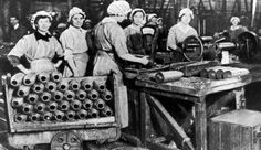 First world war: The Munition Worker: A Play in One Scene Canadian History, American History, Women In History, World History, World War One, First World, France Bleu, Manchester Art, Female Hero