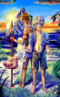 Lord of the flies jack and ralph