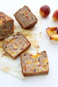 Perzik kwarkbrood met honing