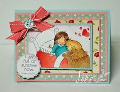 phyllis harris - illustrator & unity stamp company - card created by jessica diedrich