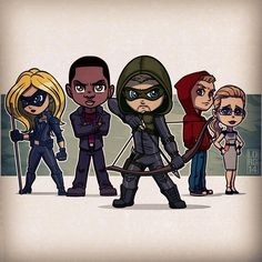 Team Arrow (Even though they apparently don't call it that...)