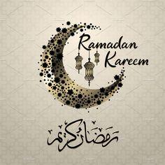 illustration of holy ramadan kareem by on Islamic Images, Islamic Love Quotes, Islamic Art, Ramadan Mubarak Wallpapers, Mubarak Ramadan, Dua For Ramadan, Wallpaper Ramadhan, Eid Mubark, Ramadan Images