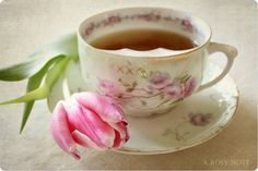 Coffee Time, Tea Time, Coffee Cups, Teas 6, Tea Plant, Pink Tulips, Fine China, Afternoon Tea, Cookies Et Biscuits