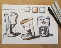 coffeemaker doodles