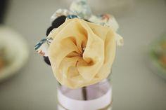 Fabric Flowers... how do I make this??